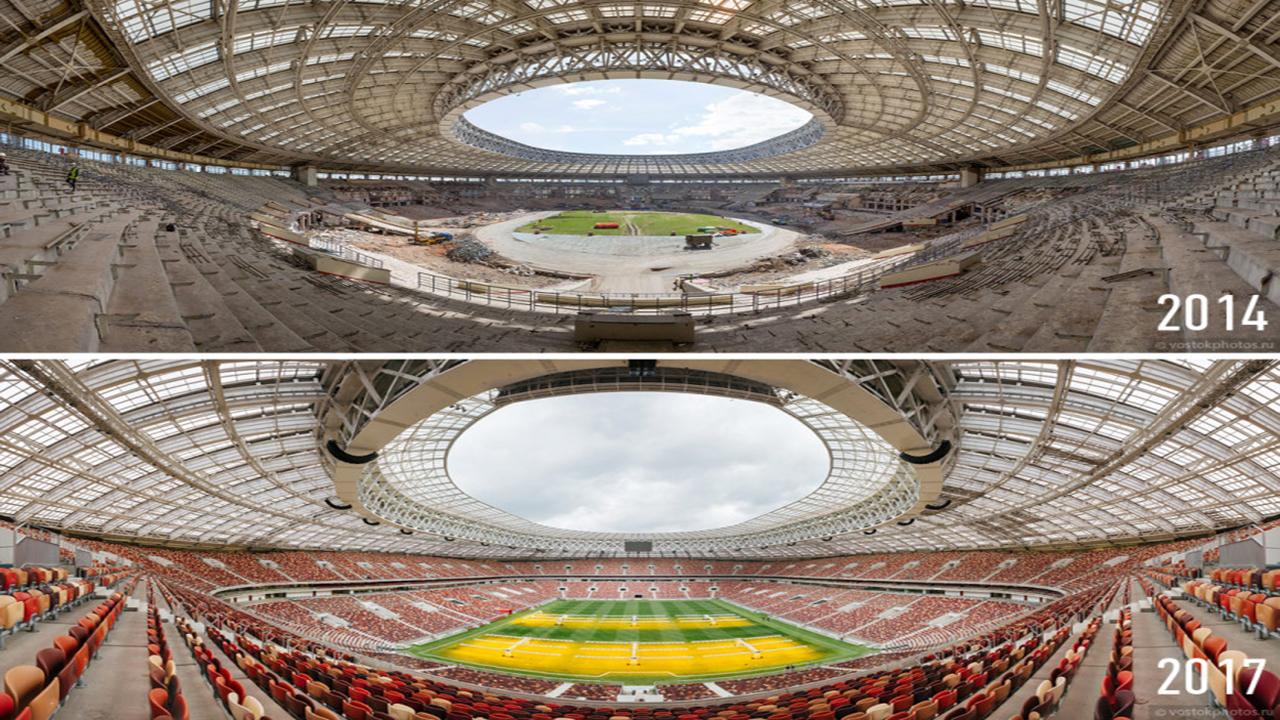 Antiguo Estadio Luzhnikí 2014