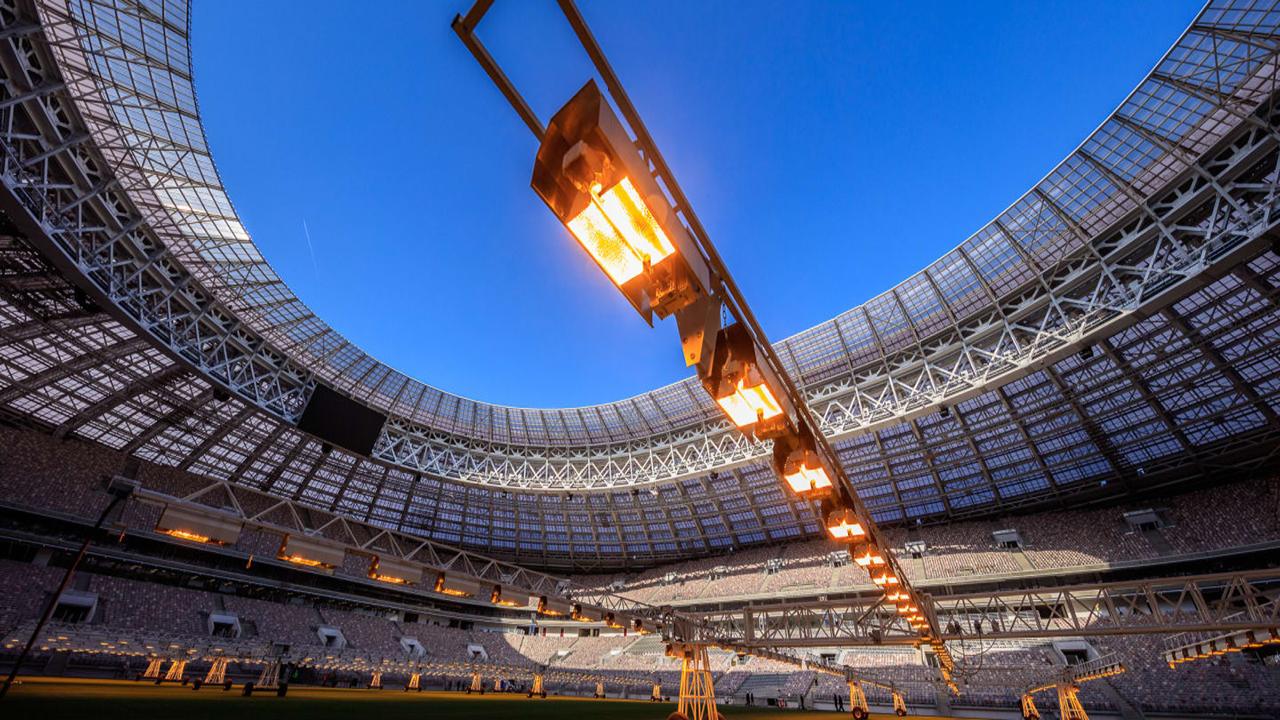 Cuidados del Césped Estadio Luzhniki
