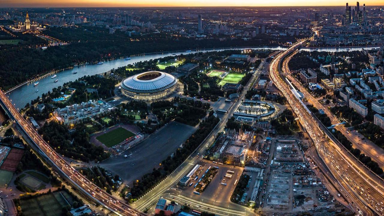 Estadio Luzhniki exterior
