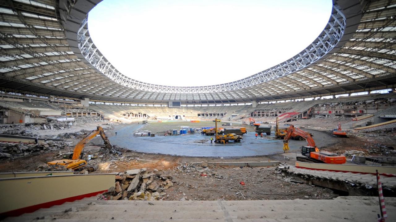 Reconstrucción Estadio Luzhnikí