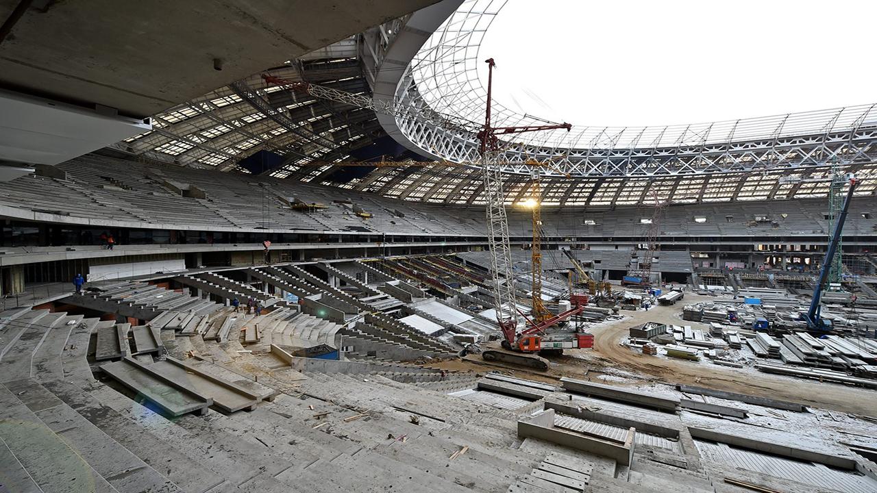 Reconstruyendo Estadio Luzhniki