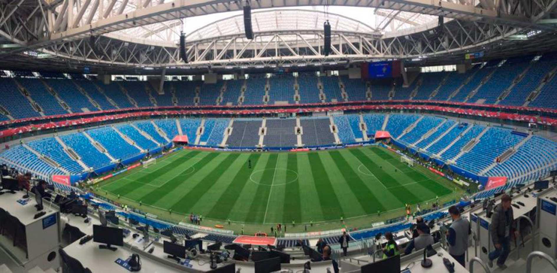 Graderío del Estadio Krestosvky