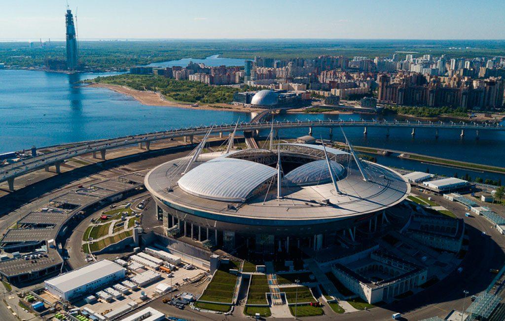Estadio Krestovski Estadio Del Zenit San Petersburgo
