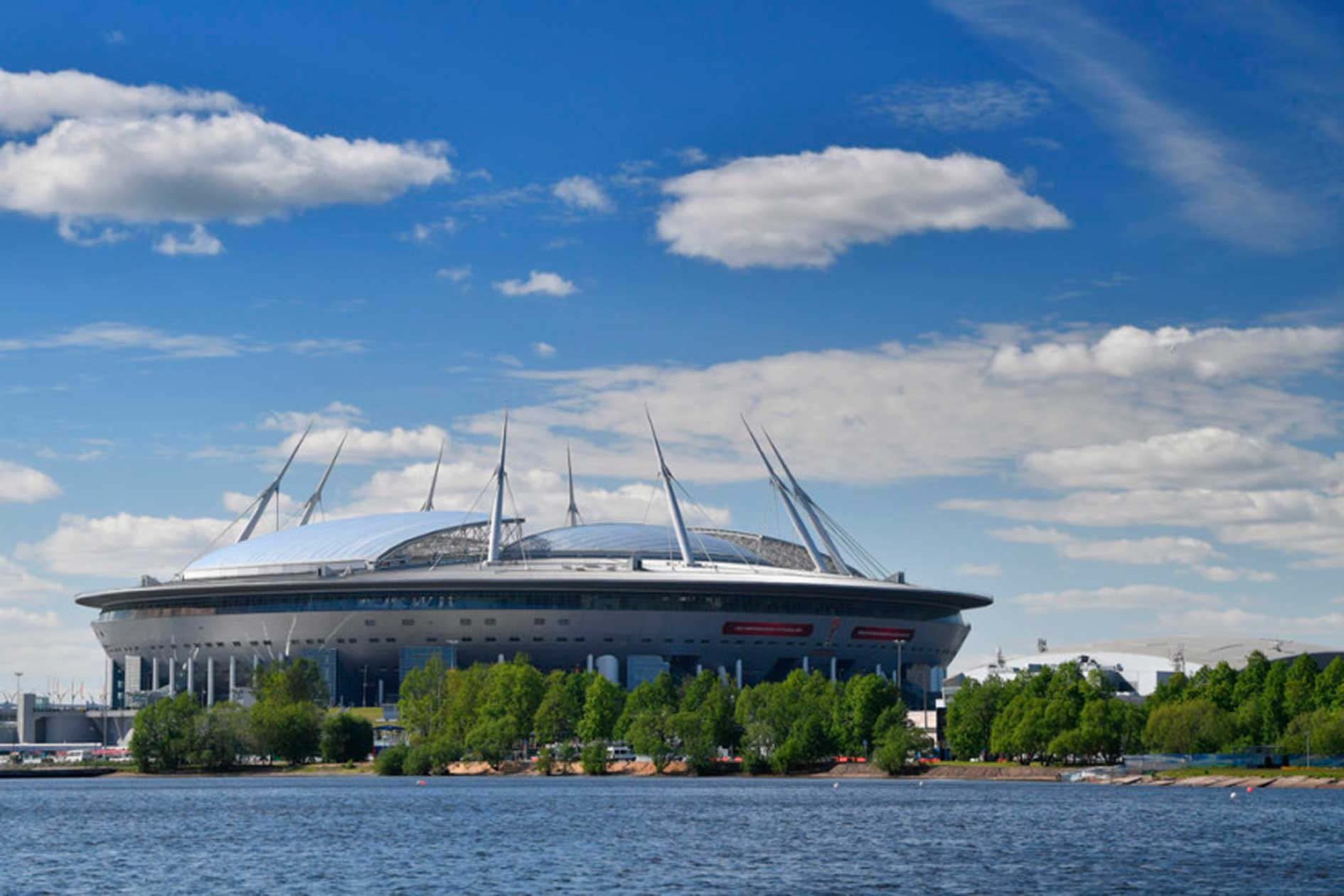 Exterior Estadio Zenit San Petersburgo