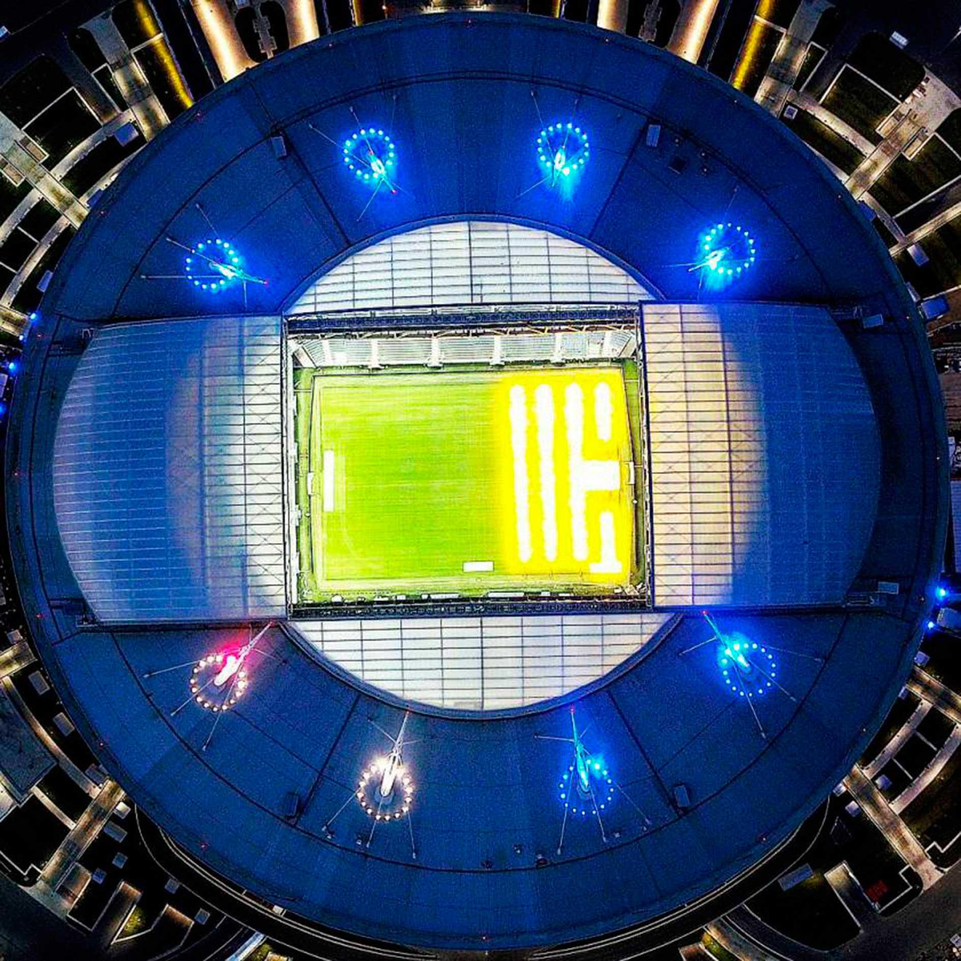 Zenit Arena de Noche