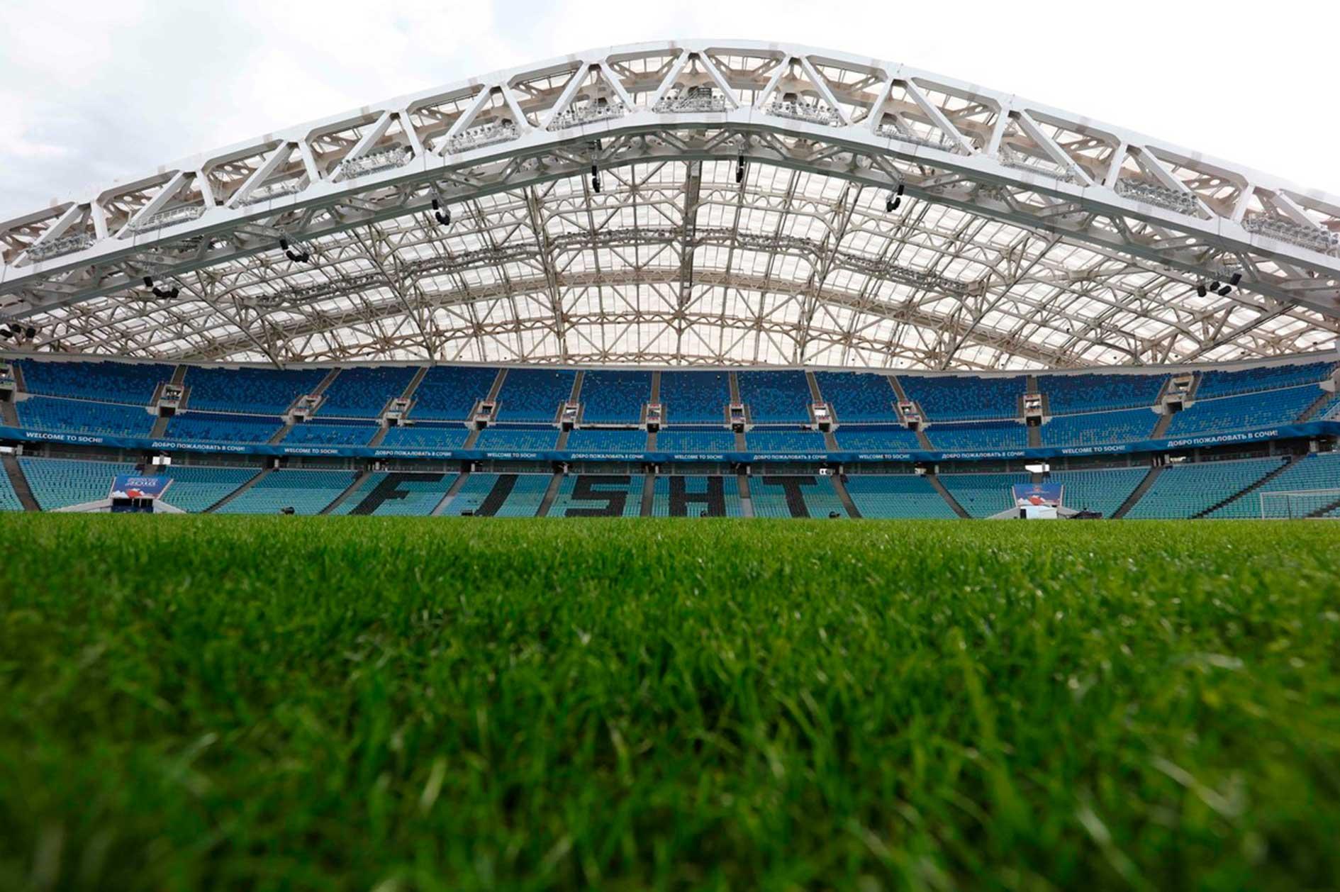 Asientos del Estadio Olímpico de Sochi