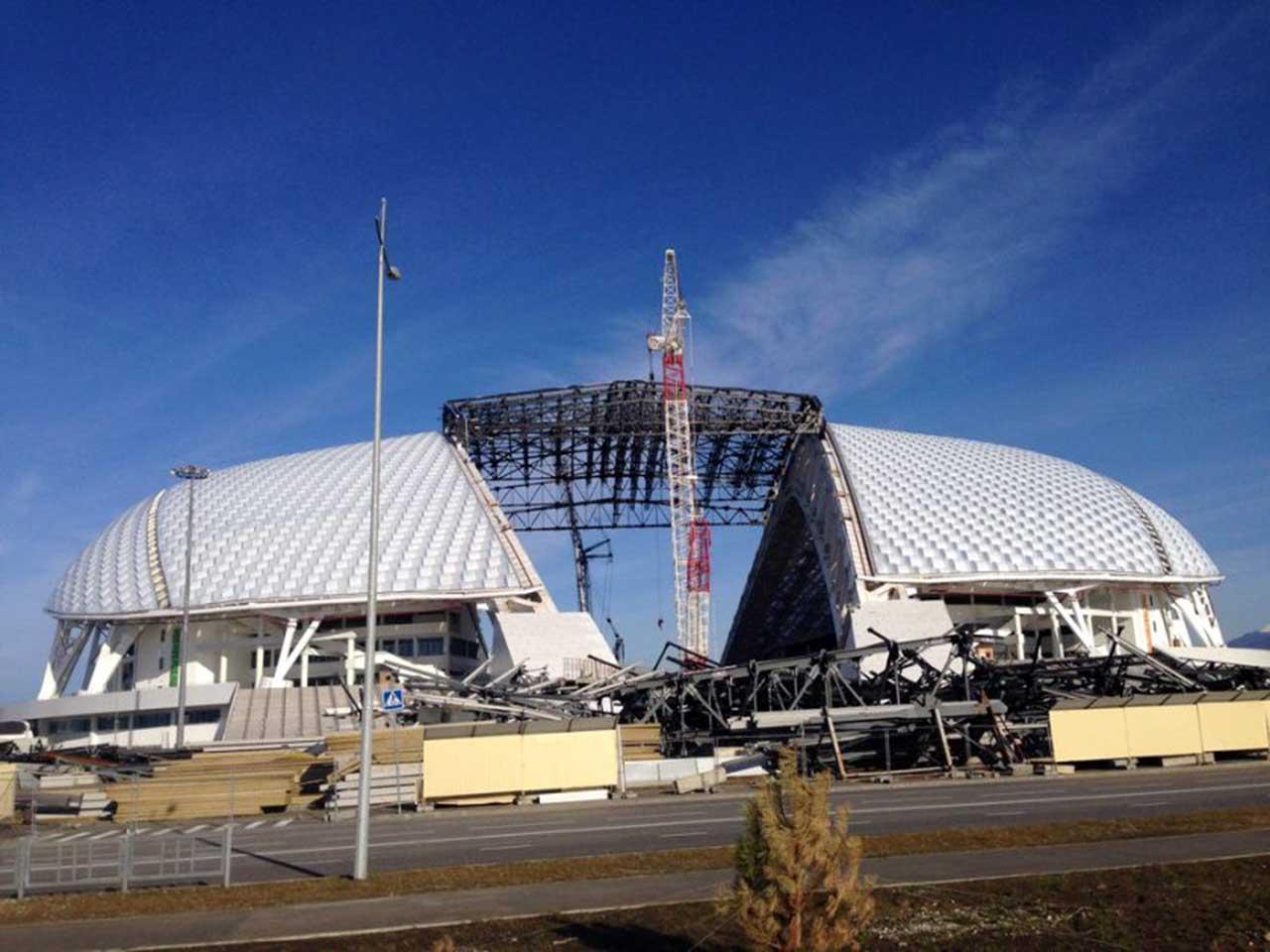Construcción de Estadio Sochi