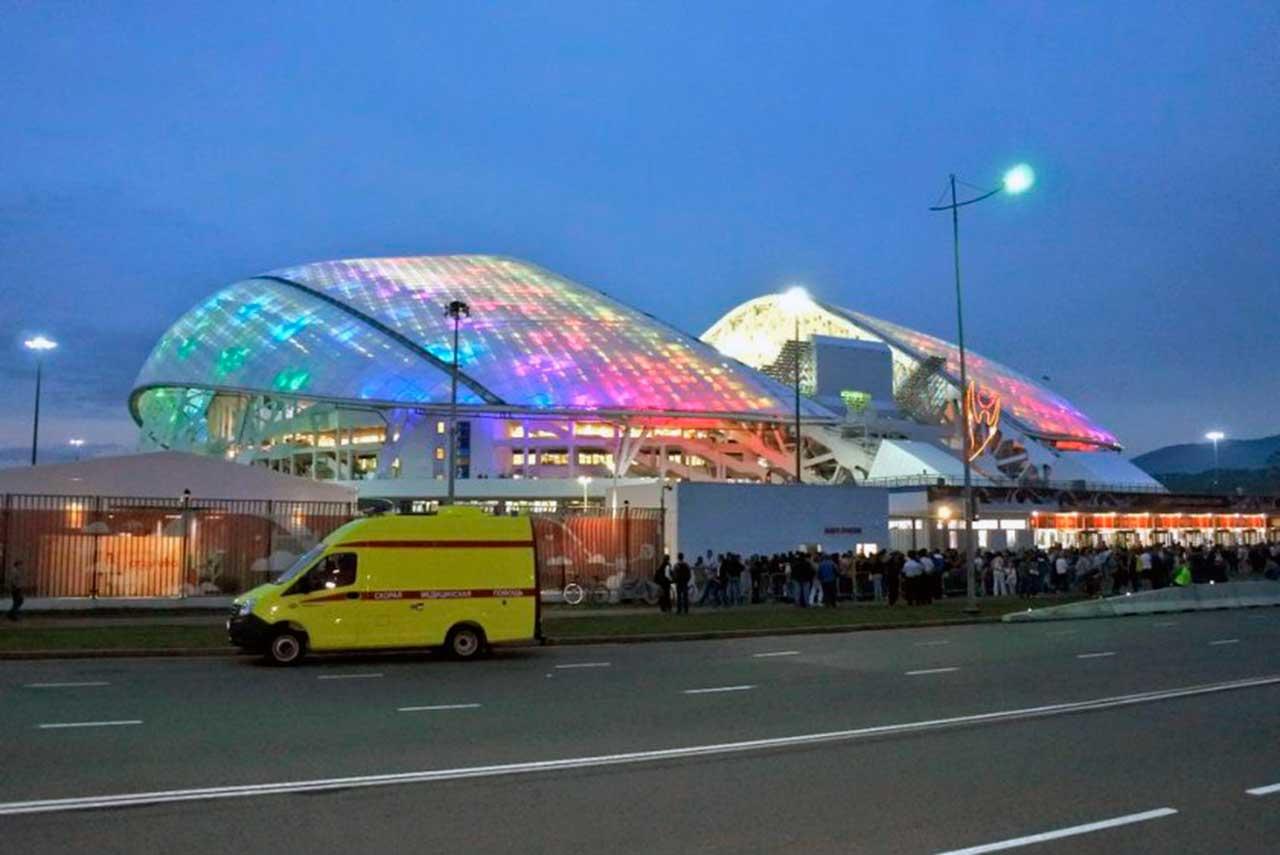 Estadio Fisht Noche