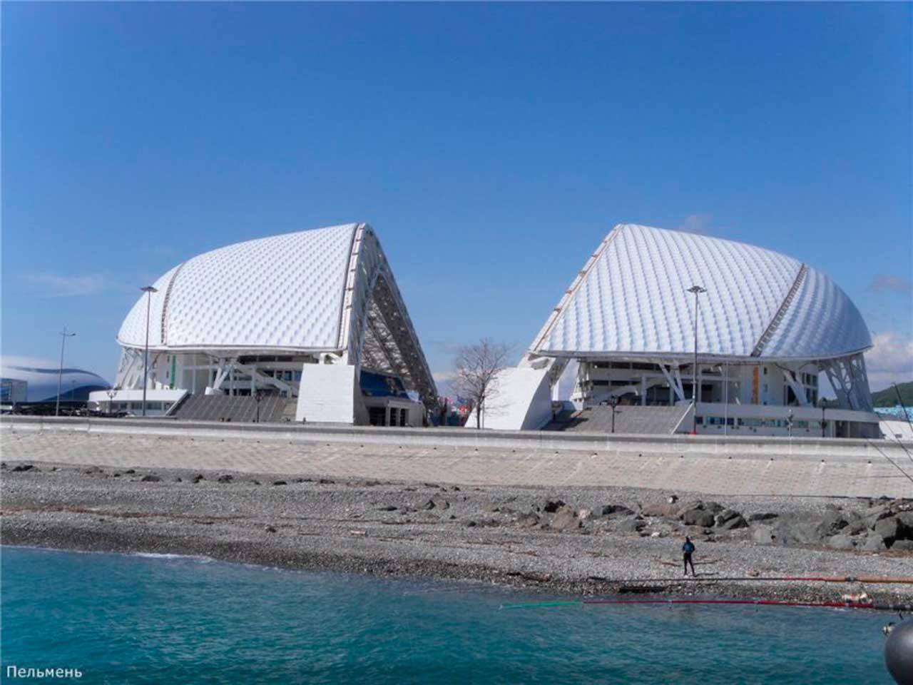 Estadio Sochi Frontal