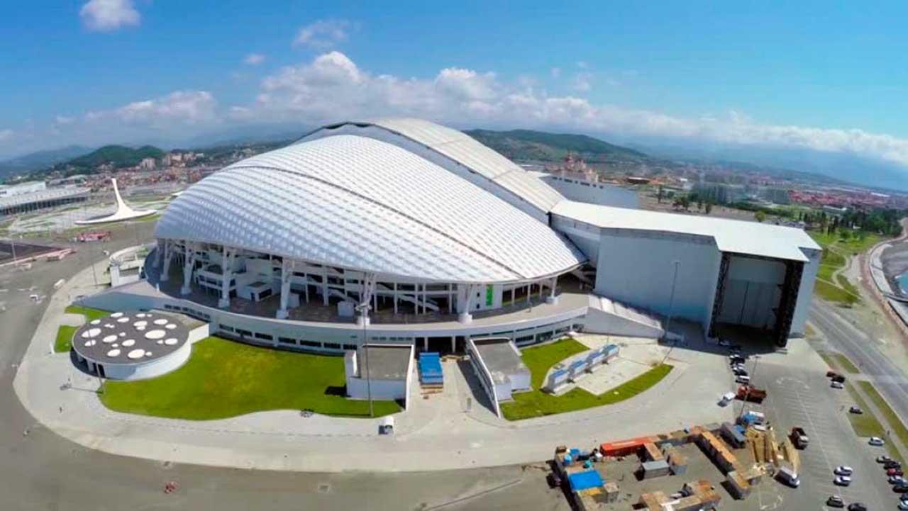 Estadio Sochi Vista Aérea