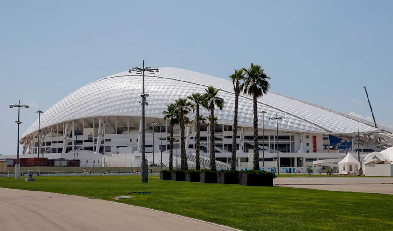 Exterior Estadio Olimpico Sochi