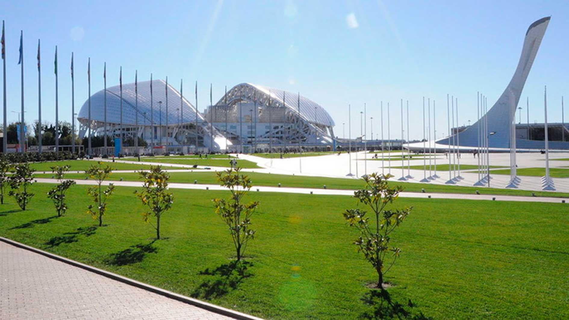 Exterior del Olímpico Sochi