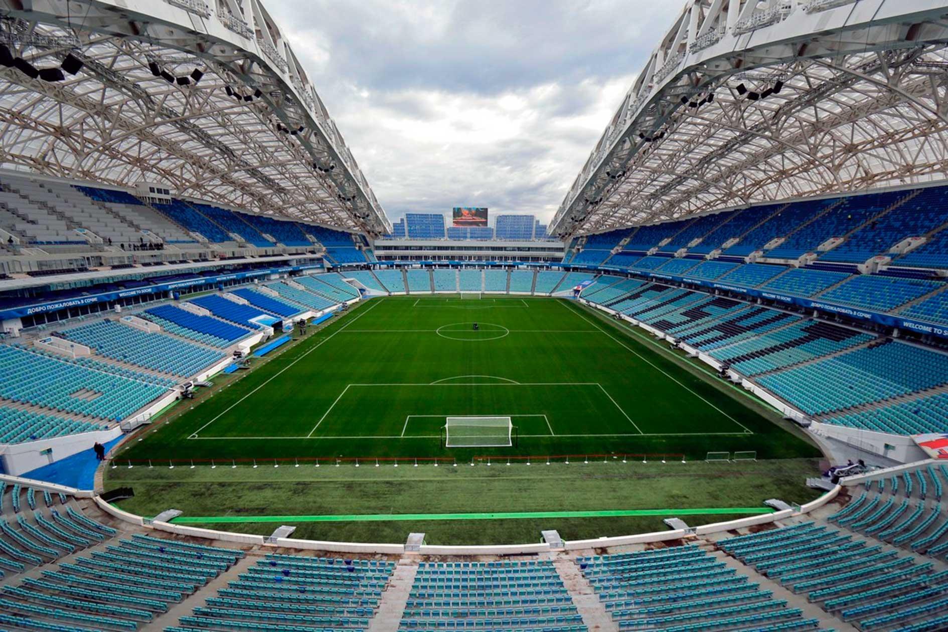 Gradas Estadio Fisht