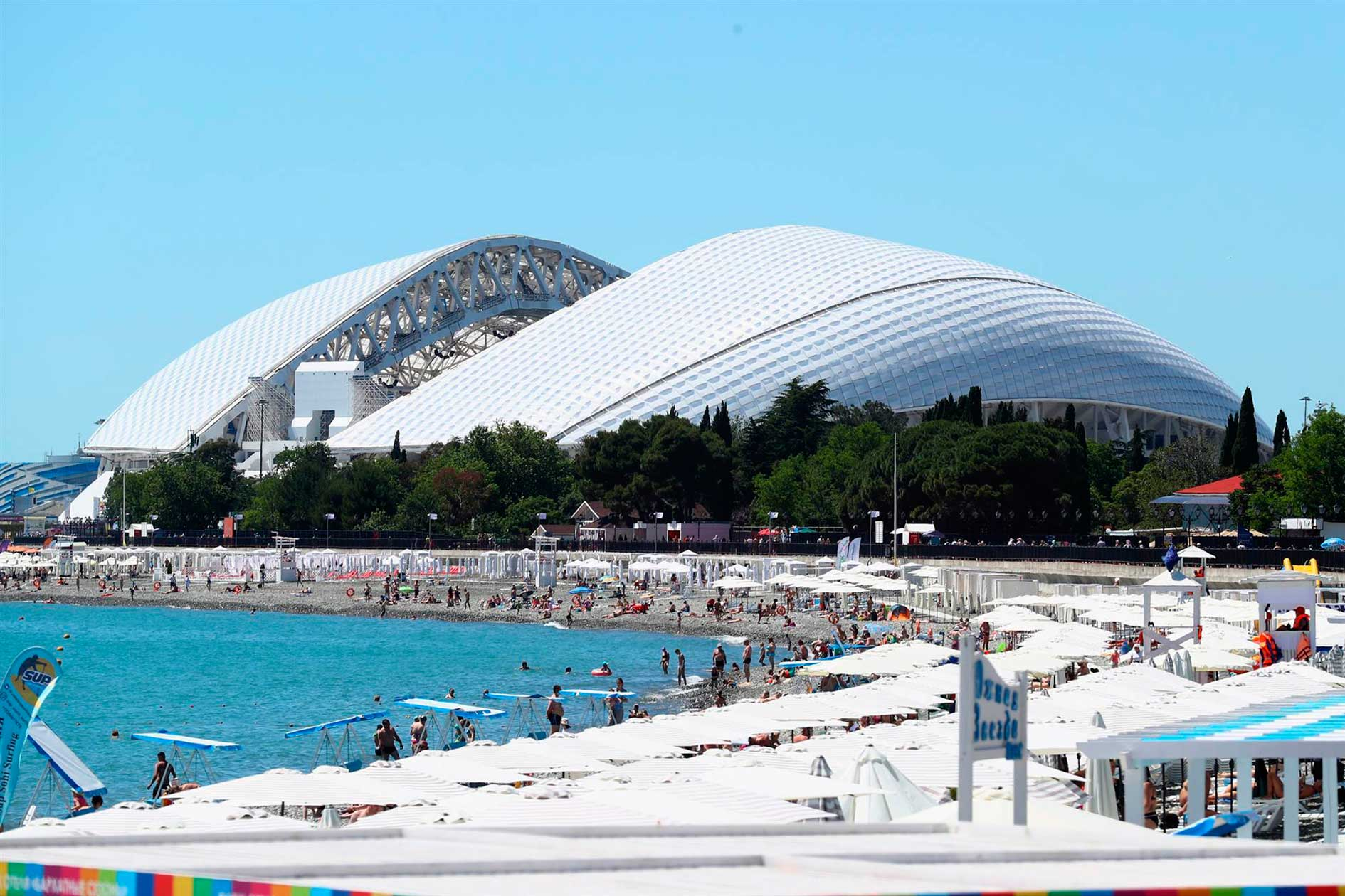 Olímpico de Sochi Exterior