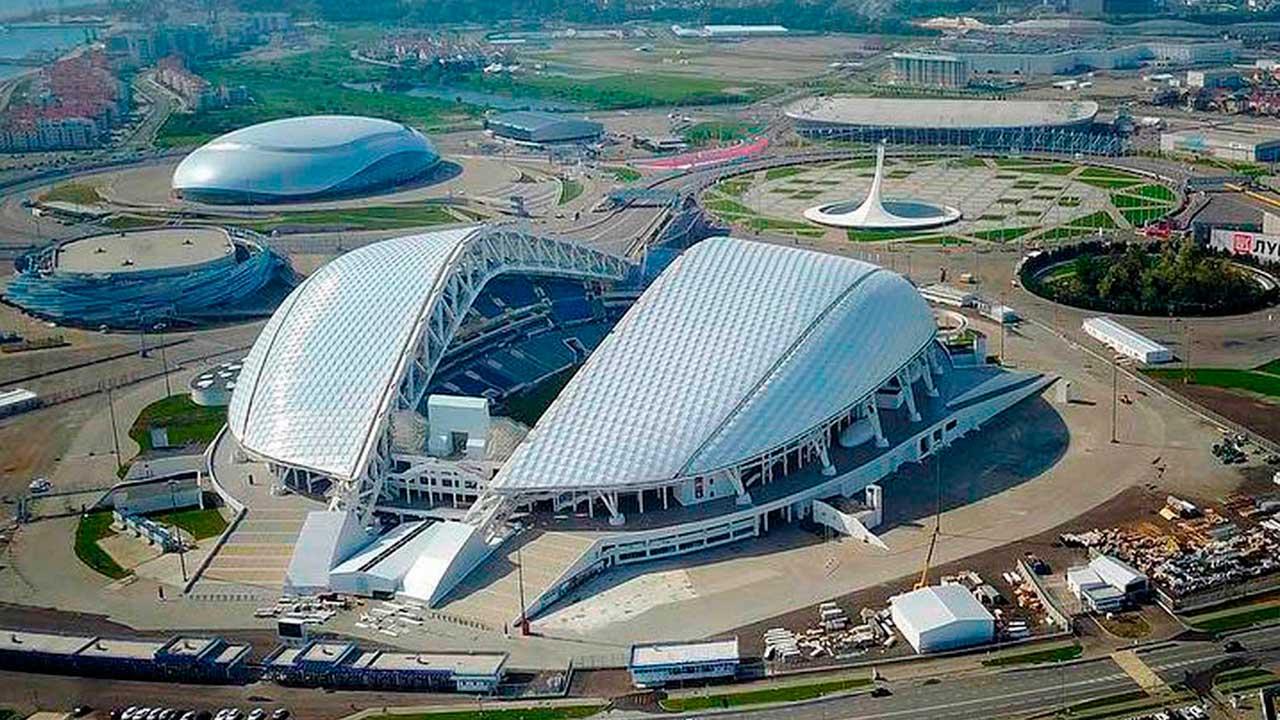 Vista Aérea Estadio Sochi