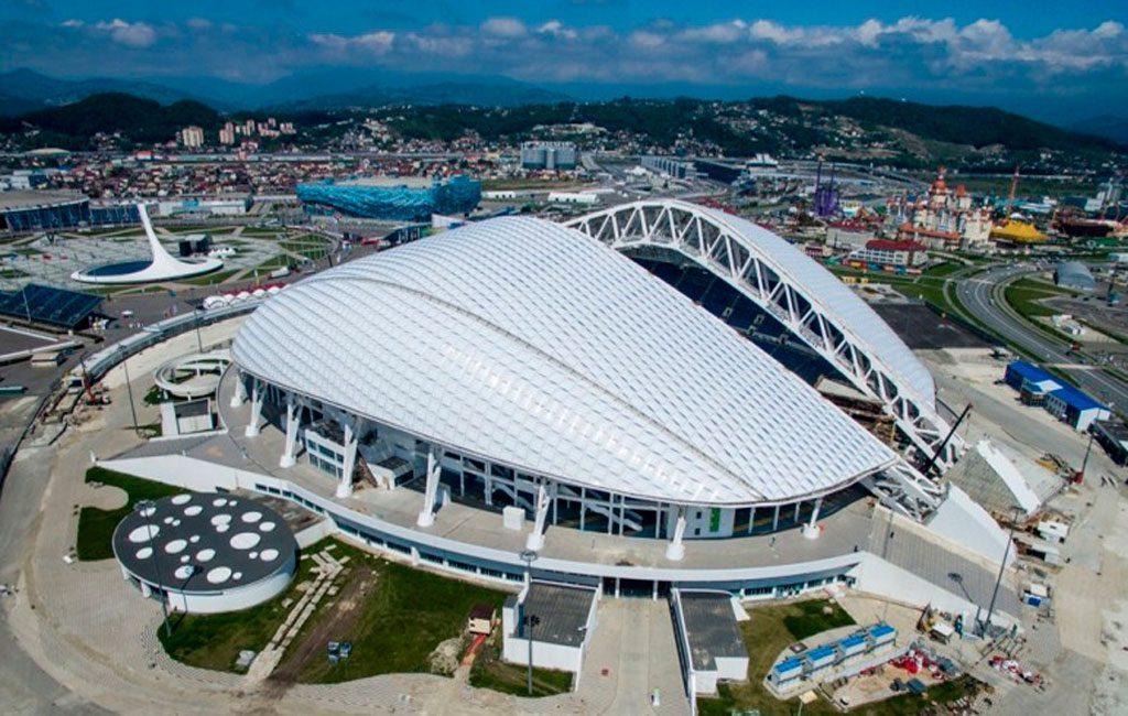 estadio fisht, estadio olímpico de Sochi