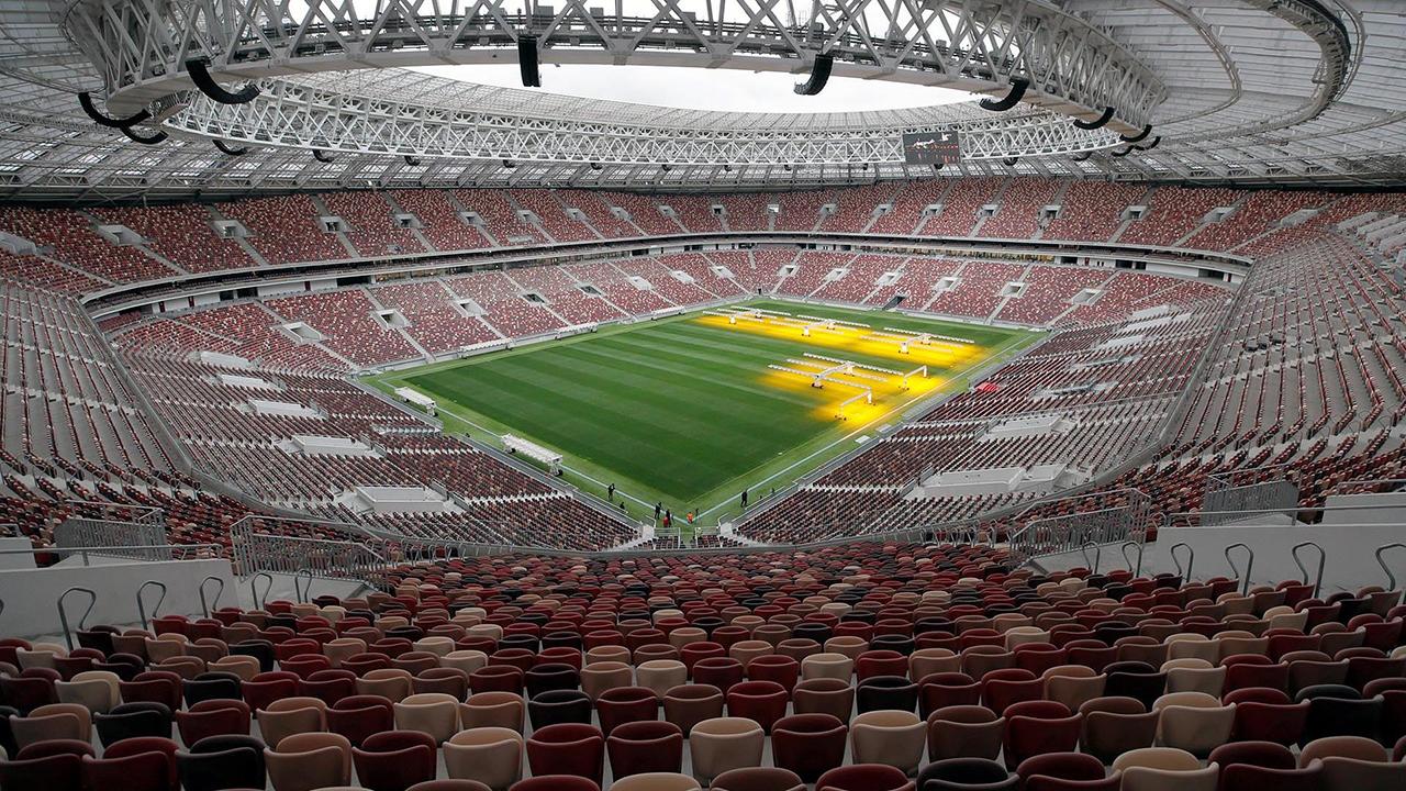 Estadio Luzhniki Graderío