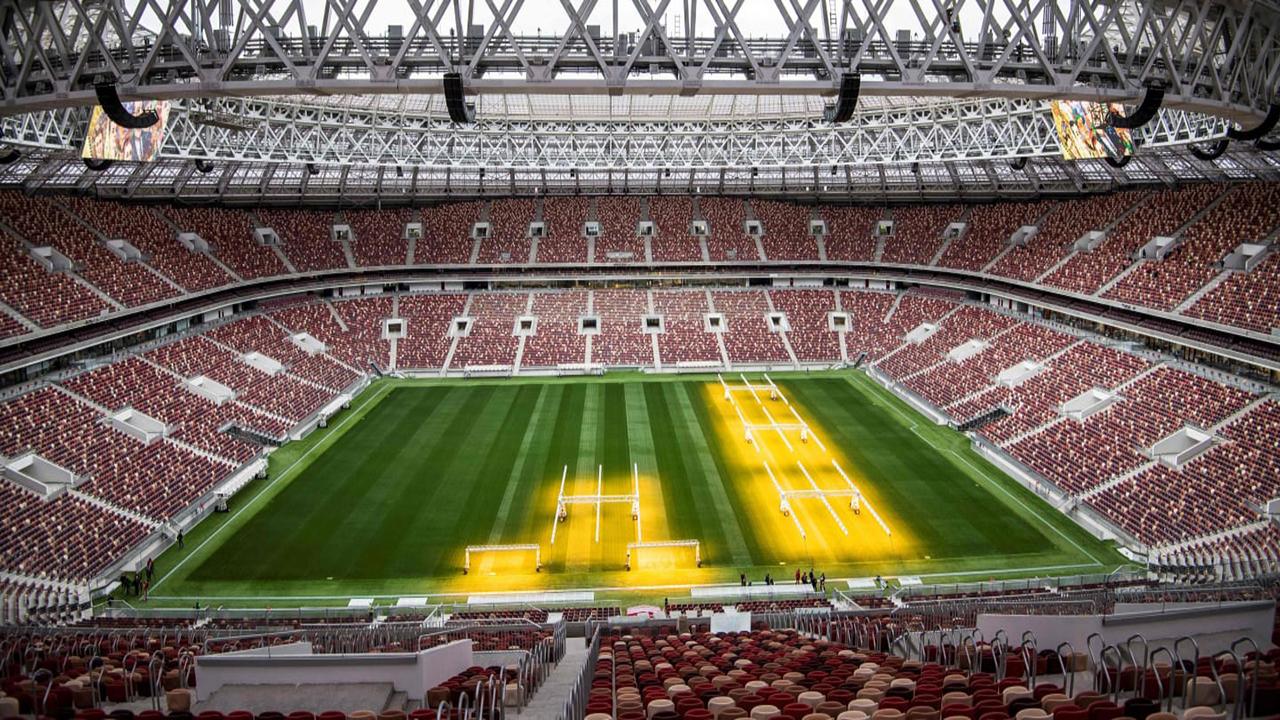 Estadio Luzhniki gradas