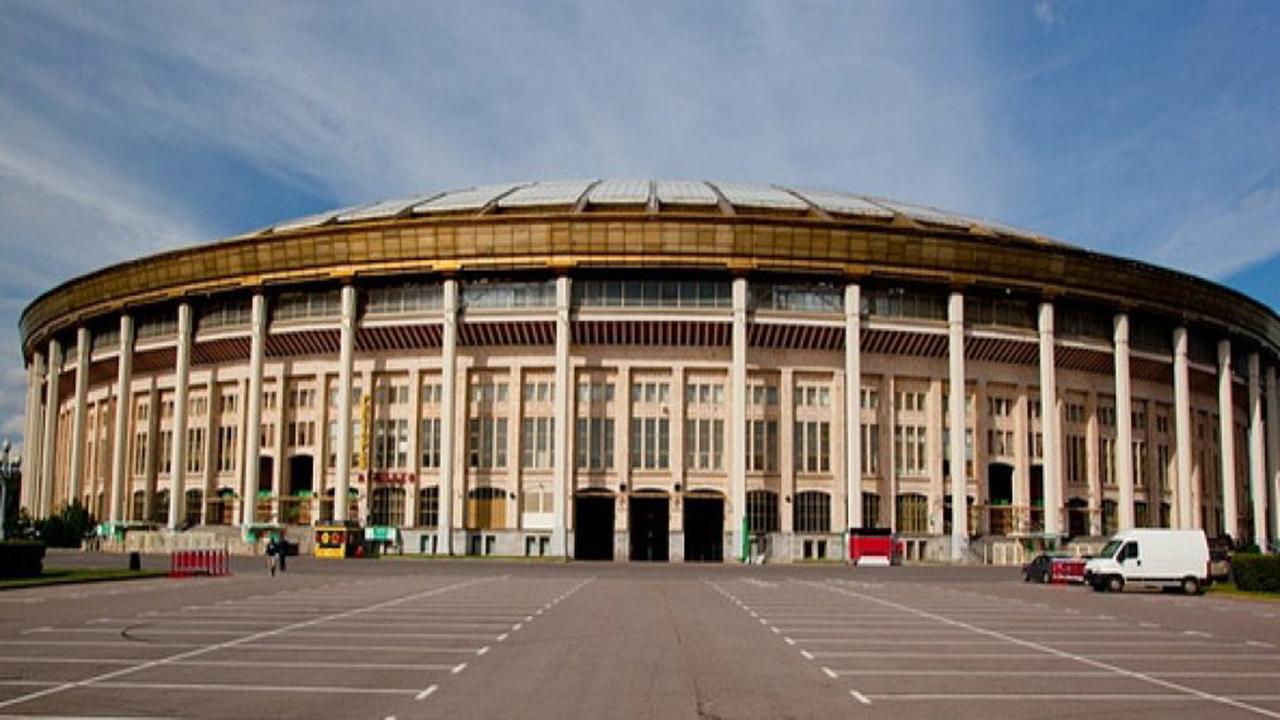 Estadio Olímpico Luzhniki exterior