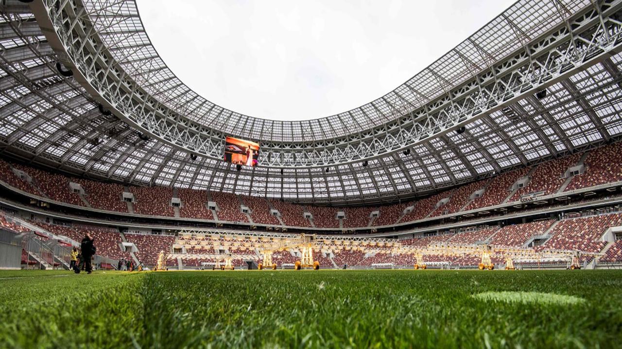 Estadio Olímpico Luzhniki interior