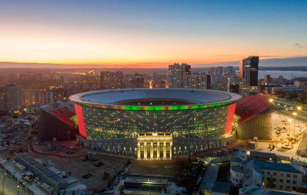 Resultado de imagen para ekaterimburgo arena